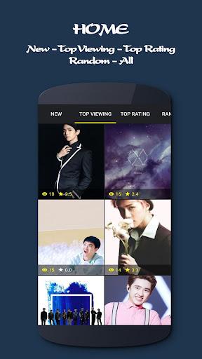 EXO Wallpapers KPOP Ultra HD Apk 1