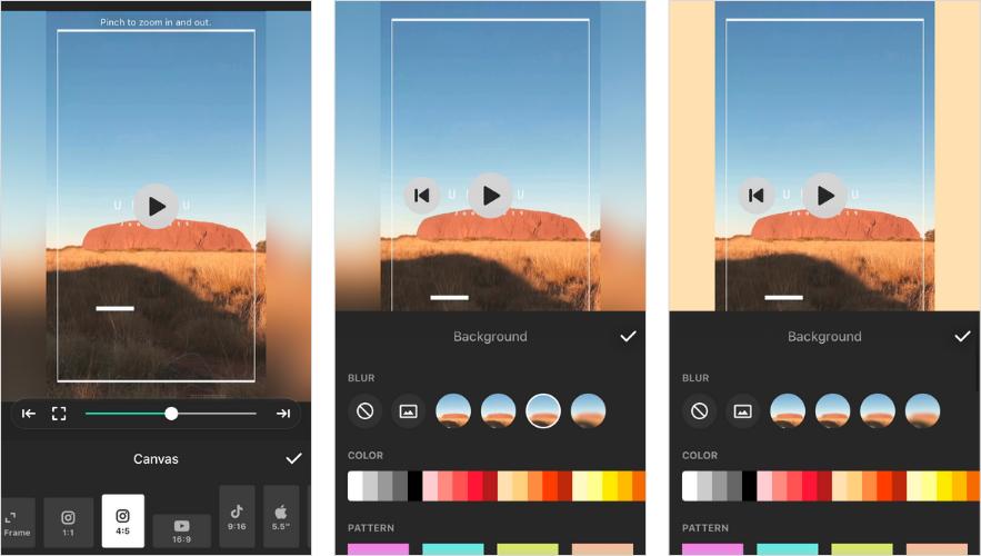 Ứng dụng cho câu chuyện trên Instagram: InShot