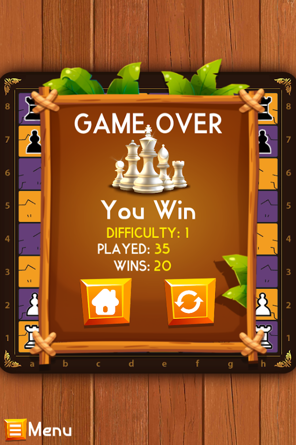 Chess 4 Casual - 1 or 2-player- screenshot