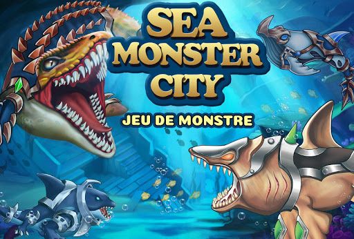Sea Monster City-jeu de monstre  captures d'écran 1