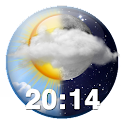 Beautiful Weather Clock Widget icon