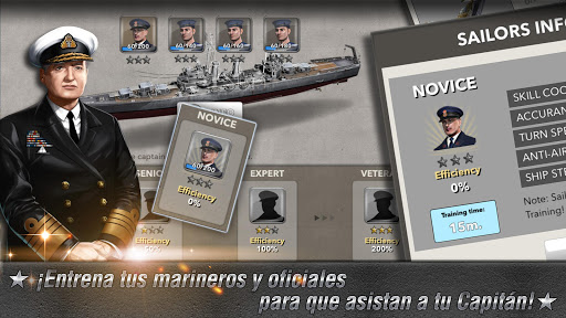 Navy Field (acorazado) screenshot