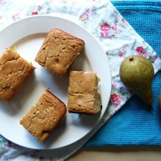 Pear, Ginger and Dark Chocolate Chip Cake