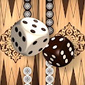 Backgammon online and offline - free Board Game icon
