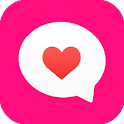 chat girl-girlfriend robot icon