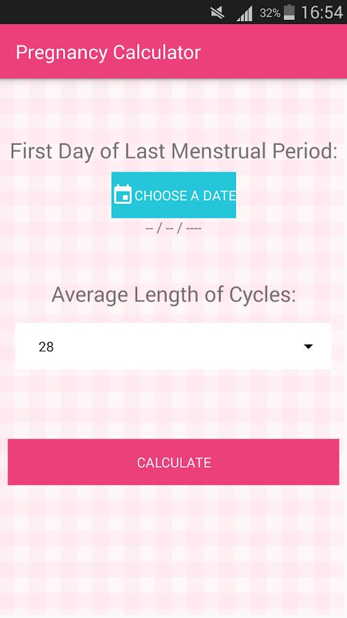 Dating pregnancy by lmp