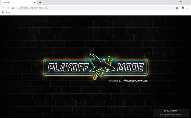 NHL San Jose Sharks New Tab