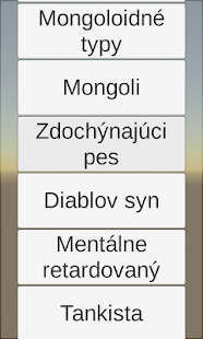 Politický Soundboard screenshot