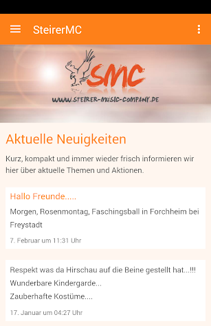 Steirer Music Company screenshot for Android