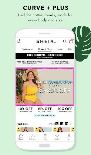 SHEIN-Fashion Shopping Online 7.1.4 screenshots 4
