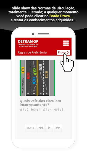 Simulado Detran São Paulo - SP screenshot 6
