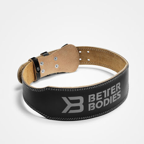 Better Bodies Weightlifting Belt Black - Medium