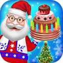 Christmas Holiday Activities - DressUp, Tree, Cake icon