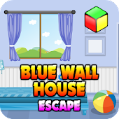 Simple Escape Games - Blue Wall House Escape