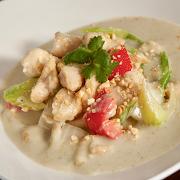 Thai Green Curry Chicken (Cashew)