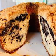Whole Chocolate Marble Coffee Cake