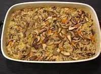 Frugal Gourmet's Barley & Mushroom Casserole