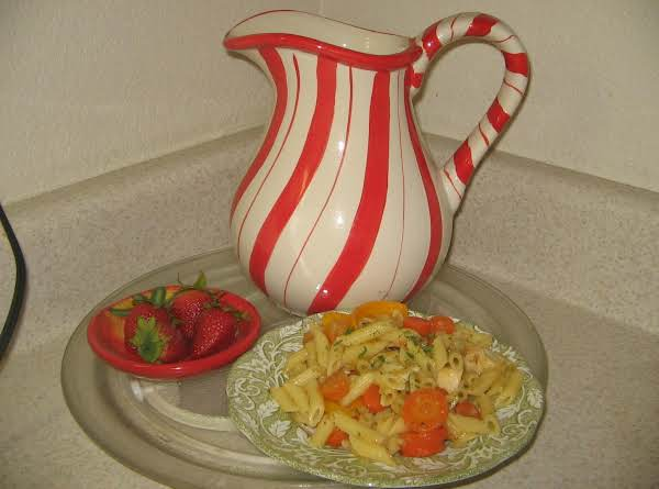 Pasta With Vegetables And Chicken