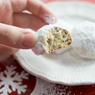 Pistachio Snowball Cookies