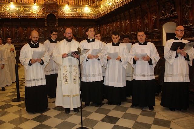 Coro Schola Cantorum del Seminario Diocesano.
