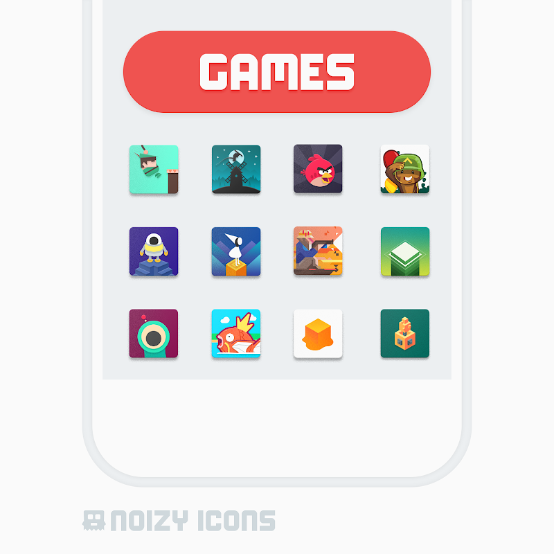 Noizy Icons Screenshot 3