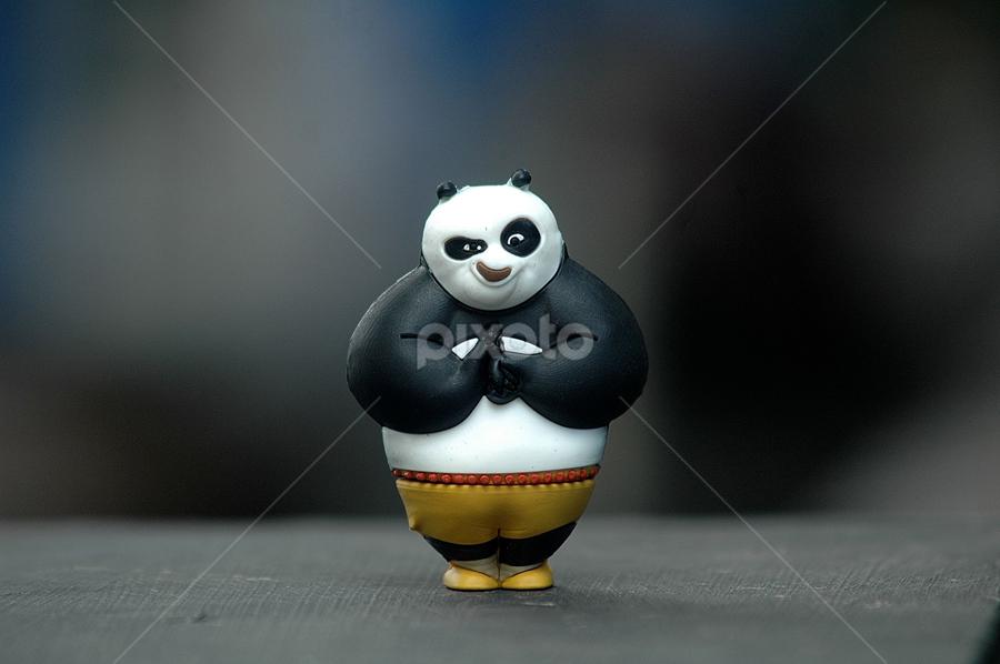 kungfu panda by Yudi Crust - Artistic Objects Toys