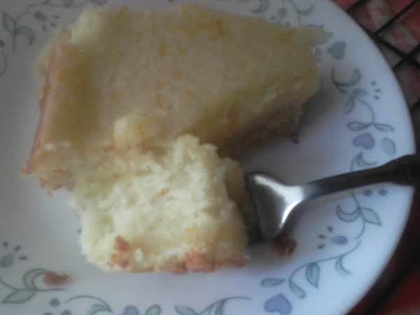 Orange Sour Cream Cake Recipe