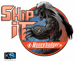 """Photo: """"Ship It"""" designed for Honeybadger.io"""