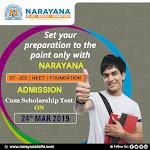 Narayana Faridabad,, a prominent  Coaching institute of JEE and NEET.
