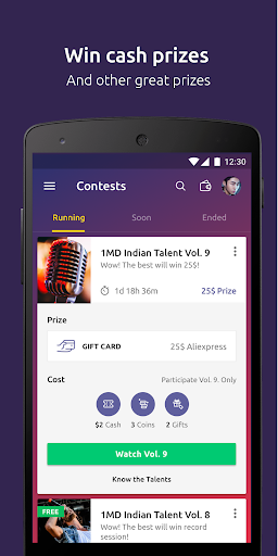 1MD Talent- singing contest, sing with your friend 2.0.2 screenshots 2