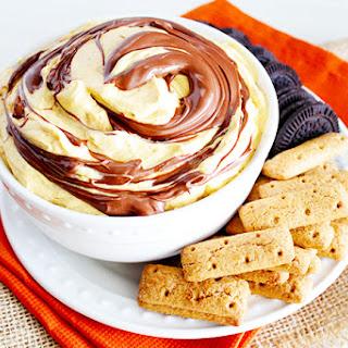 Pumpkin Nutella Cheesecake Dip