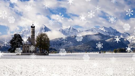 無料个人化Appの冬の降雪|記事Game