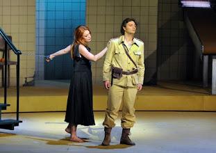 Photo: Salzburger Osterfestspiele 2012: CARMEN (Premiere 31.3.). Inszenierung: Aletta Collins. Magdalena Kozena, Jonas Kaufmann. Foto: Barbara Zeininger