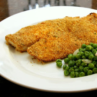 Baked Tilapia With Panko Coating.