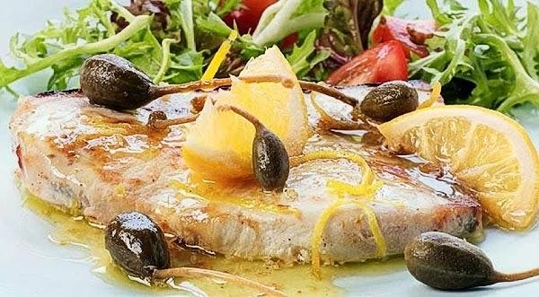 Swordfish With Capers Recipe
