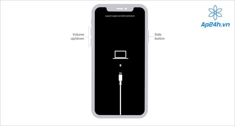 Lấy lại mật khẩu iPhone 8 và các đời máy mới hơn