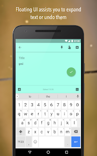 Texpand - Text Shortcuts- screenshot thumbnail