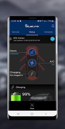 Hyundai Bluelink Europe screenshots 2