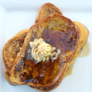 Eggnog French Toast with Maple Butter