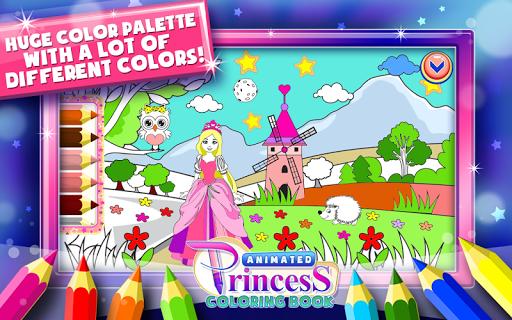 Princess Coloring Book Games  screenshots 5