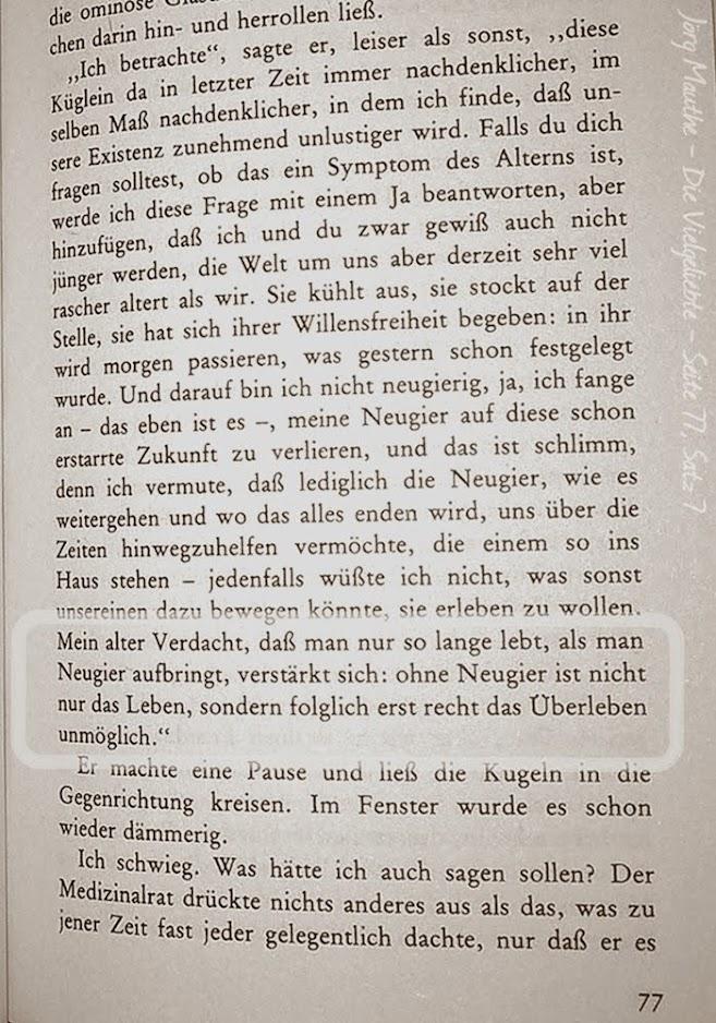 2018-12-26 Die Vielgeliebte - Jörg Mauthe Zitat Seite 77 - 7ter Satz