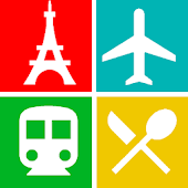 Paris Travel Guide, Attraction, Metro, Map, App