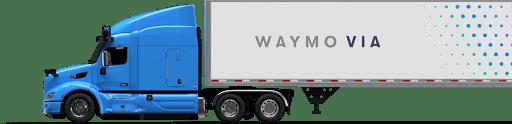 Waymo Via truck