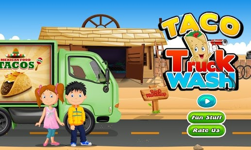 Taco Truck Wash & Cleanup Game- screenshot thumbnail