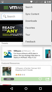 VMware Mobile Knowledge Portal- screenshot thumbnail