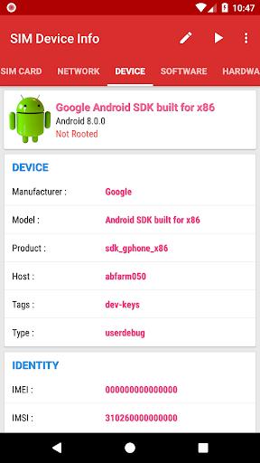 SIM Device Info 6.0 screenshots 4