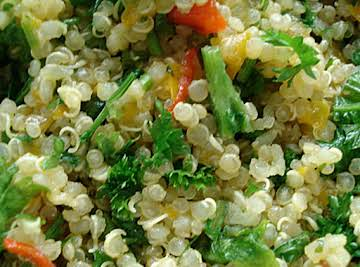 Quinoa And Caramelized Onions