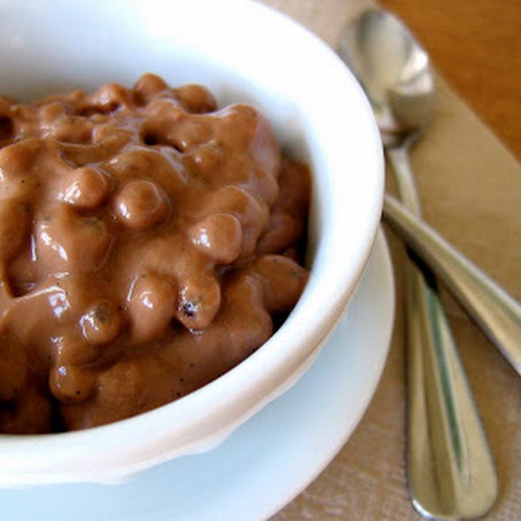 (Vegan!) Chocolate Coconut Milk Tapioca Pudding Recipe