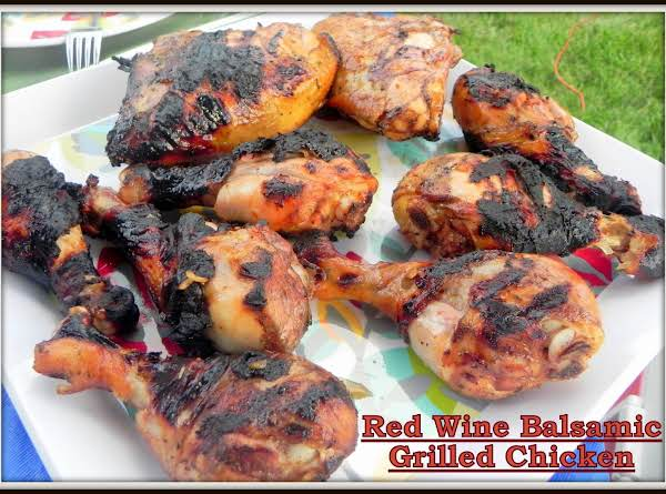 Red Wine Balsamic Grilled Chicken Recipe