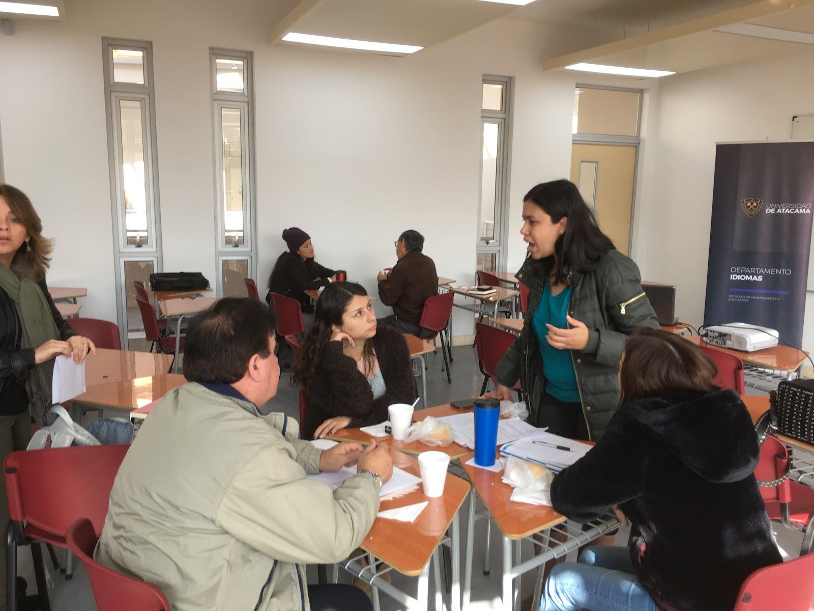 CONVERSATORIO/TALLER DE INVESTIGACIÓN CIENTÍFICA DEL DEPARTAMENTO DE IDIOMAS